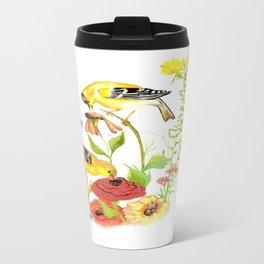 Finches Travel Mug