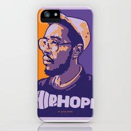 Mr.Oddisee ( HIP-HOPE Series ) iPhone Case
