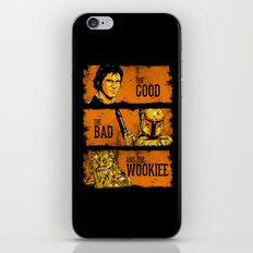 The Good, The Bad, and the Wookiee - New version iPhone & iPod Skin