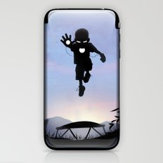 Iron Kid iPhone & iPod Skin