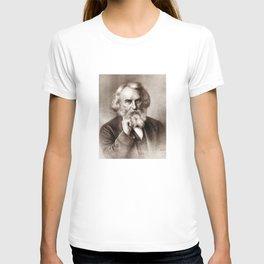Henry Wadsworth Longfellow - American Poet T-shirt