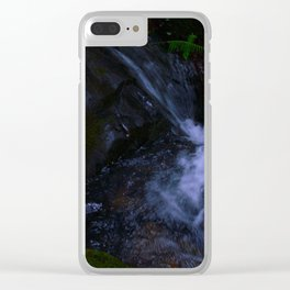 Magickal Waterfall Clear iPhone Case