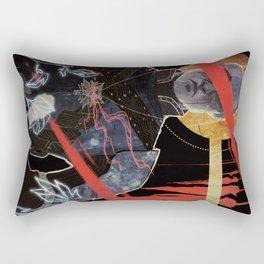 Justice tarot card Rectangular Pillow