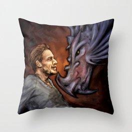 Dragon Series: Liam Throw Pillow
