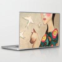la Laptop & iPad Skins featuring la reverie by sylvie demers