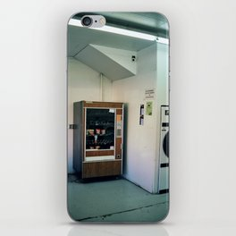 snacks @ laundromat (03-15) iPhone Skin