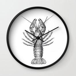 Vintage Lobster Wall Clock