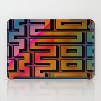 labyrinth iPad Cases featuring Labyrinth by Fine2art