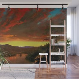 Twilight in the Wilderness by Frederic Edwin Church Wall Mural