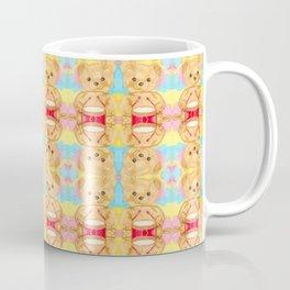 Drumming teddy bear Coffee Mug