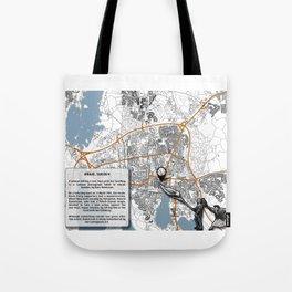 Atlas of Inspiring Protests; VÄXJO Tote Bag