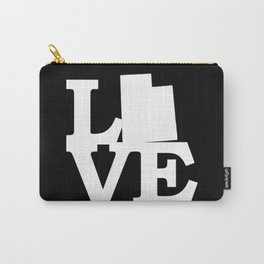 Utah Pride USA State Love Map Carry-All Pouch