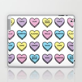 Baesic Candy Hearts - Mexican Food Laptop & iPad Skin