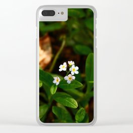 Pale Clear iPhone Case