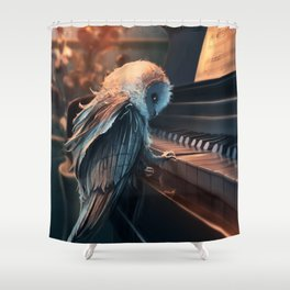 Piano Lesson Shower Curtain