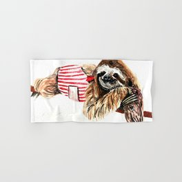 Sassy Sloth Hand & Bath Towel
