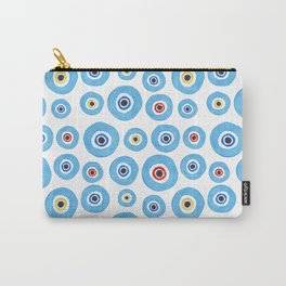 ''Evil eye'' pattern Carry-All Pouch