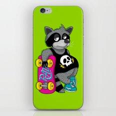 Really Radical Raccoon iPhone & iPod Skin