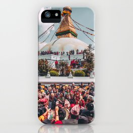 Boudhanath iPhone Case