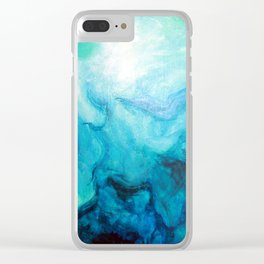 Deep Diver Clear iPhone Case