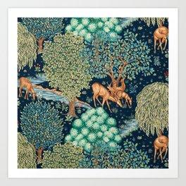 "William Morris ""The Brook"" Art Print"