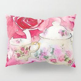 Tea 2 Pillow Sham