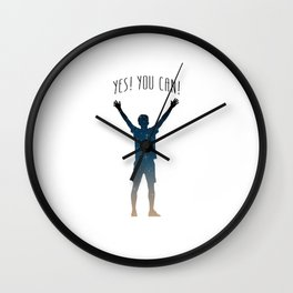 Yes! You can! Wall Clock