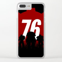 Fallout 76 Clear iPhone Case