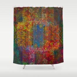 Holi Sky Shower Curtain