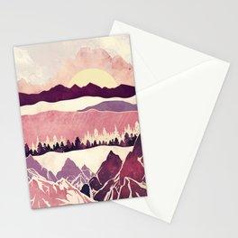 Burgundy Hills Stationery Cards
