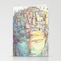 ashton irwin Stationery Cards featuring Fondamenta by Luca Massone