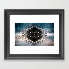 TESSELATE Framed Art Print