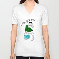 fear and loathing V-neck T-shirts featuring Fear and Loathing in Albuquerque (Breaking Bad) by Evan