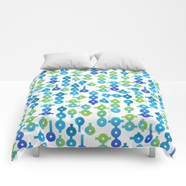 Chemistry Glass simple pattern Comforters