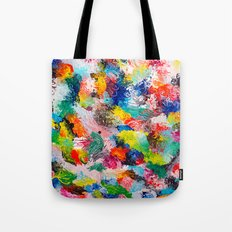 rainforest abstract 1 Tote Bag