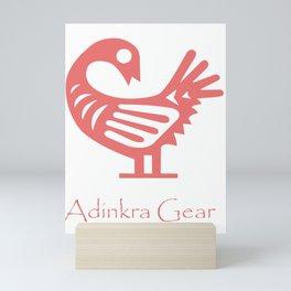 Pink Sankofa Mini Art Print