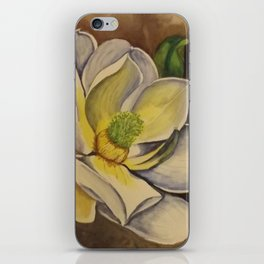 sweet magnolia iPhone Skin