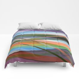 Abstract Composition 671 Comforters