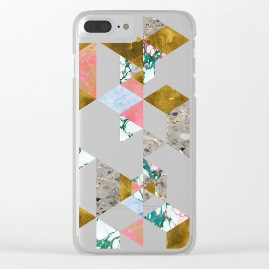 Geometry of Love #society6 #decor #buyart Clear iPhone Case