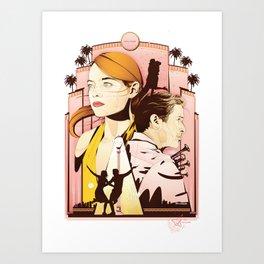 La La Nights Art Print