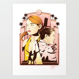 La La Nights Art Print