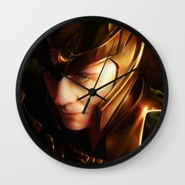 Glorious Would be King Wall Clock