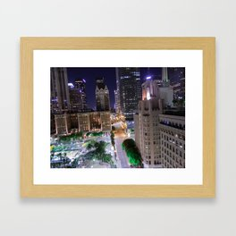 LA Lean Framed Art Print