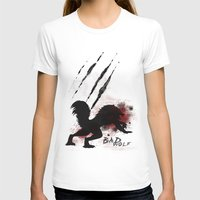 bad wolf T-shirts featuring Bad wolf by Halopromise
