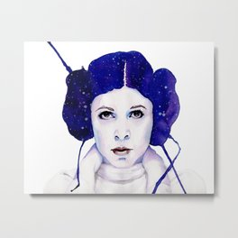 space princess Metal Print