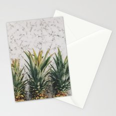 Pineapple marble Stationery Cards