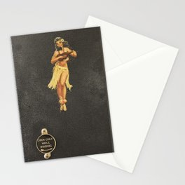 Hula Only While Winding Stationery Cards