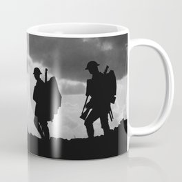 Soldier Silhouettes - Battle of Broodseinde Coffee Mug