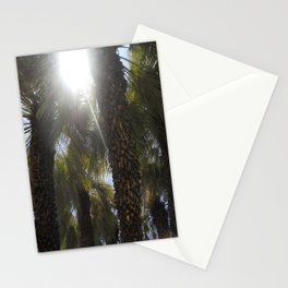 Palm Trees Perspective Stationery Cards