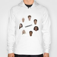 community Hoodies featuring Community Simple by mycolour